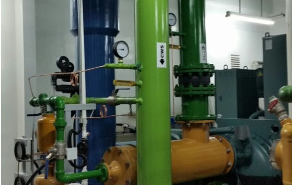Chiller Piping works